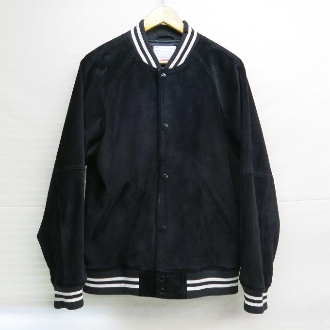 衝撃特価 Supreme 17SS Suede Varsity Jacket シュプリーム スエード バーシティ ジャケット ブラック サイズ:L【】【ストリート】【四日市 併売品】【126-180111-11USH】, 風連町 57c721ac