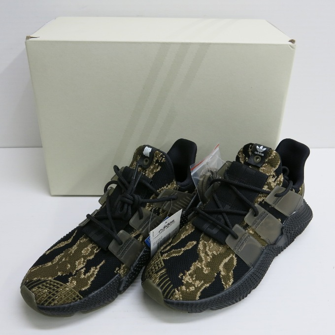 adidas Originals PROPHERE X UNDEFEATED アディダスオリジナルス プロフィア×アンディフィーテッド AC8198 ブラック/オリーブ/ベージュ サイズ:26.5cm【中古】【スニーカー】【四日市 併売品】【139-180122-02USH】