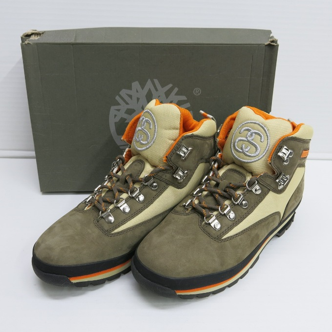 Stussy X Timberland Euro Hiker Boot ステューシー X
