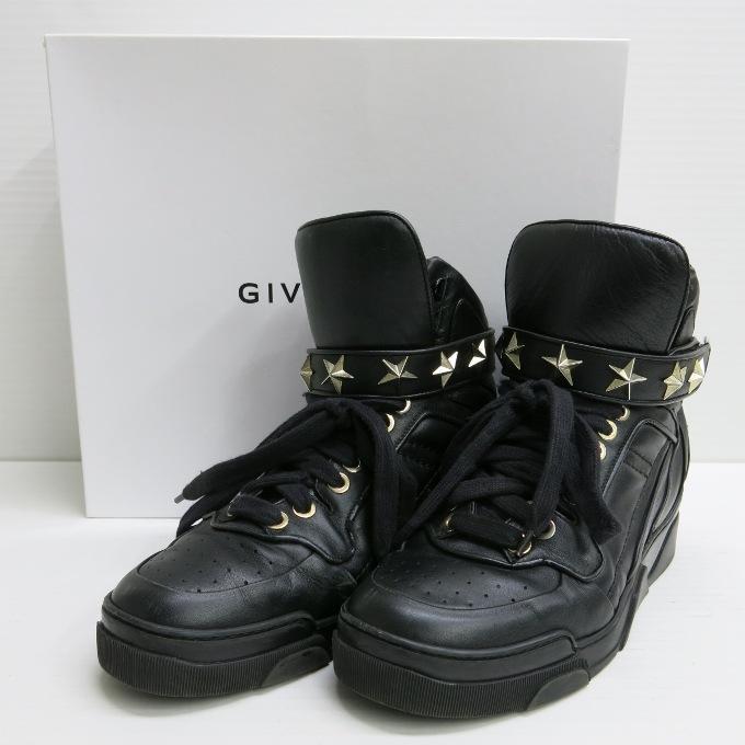 GIVENCHY TYSON G3173 VAR001 ジバンシー タイソン ブラック サイズ:43(約28cm)【中古】【SPブランド】【四日市 併売品】【148-180228-06USH】