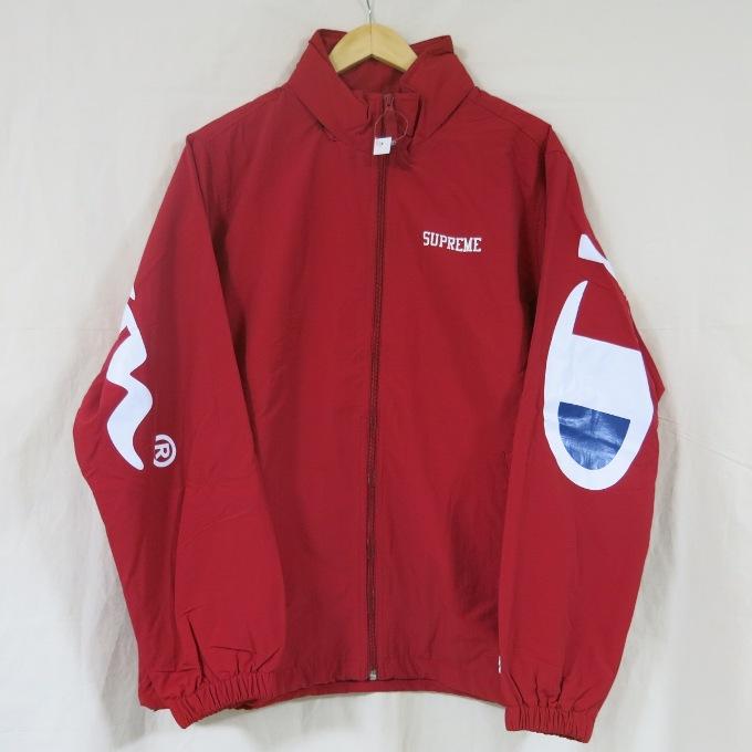 aeb2335f3b0ee Supreme X Champion 18SS TRACK JACKET シュプリーム X champion truck jacket red  size: L ...