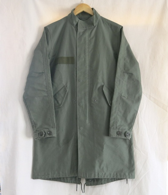 uniform experiment UEN MILITARY STAND COLLAR COAT ユニフォームエクスペリメント ミリタリー スタンドカラー コート UE-178016 カーキ サイズ:2【中古】【DM】【四日市 併売品】【125-180816-11USH】