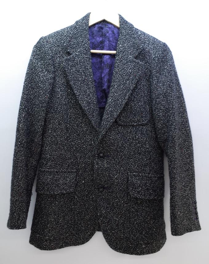 Needles tweed jacket ニードルス ツイードジャケット ネペンテス/ペイズリー柄/XSサイズ/ブラック【中古】【DM】【四日市 併売品】【125-180719-04ahH】