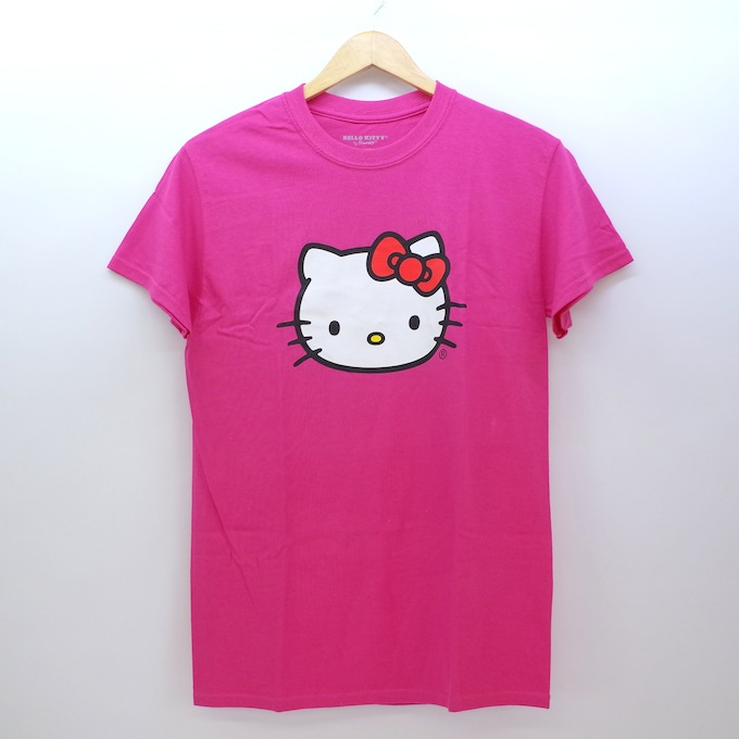 Anti Social Social Club x Hello Kitty Collection TEE アンチ ソーシャル ソーシャル クラブ x ハロー キティ コレクション ティーシャツ Sサイズ/ピンク/キティ【中古】【ストリート】【四日市 併売品】【126-181011-06CH】