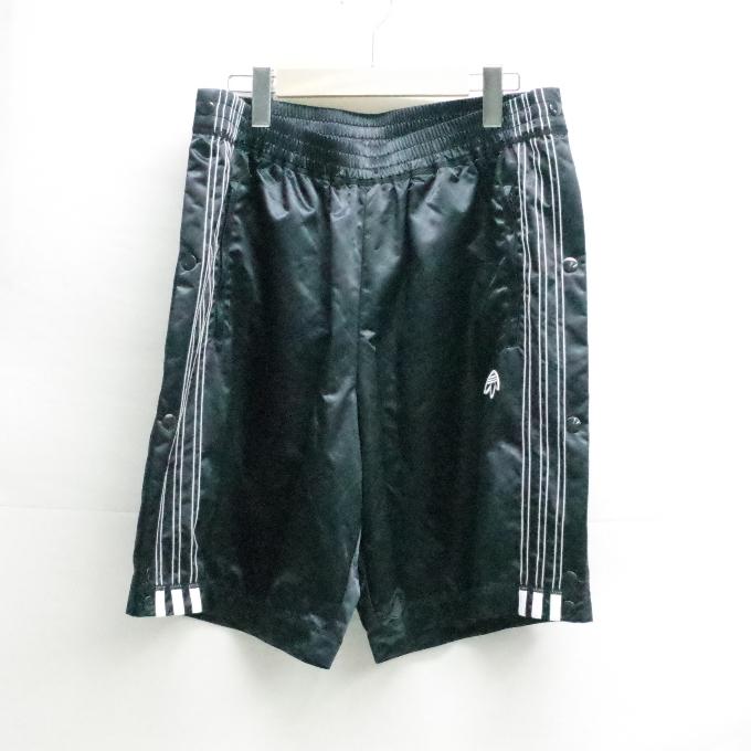 adidas originals BY Alexander Wang Adibreak Shorts アディダス オリジナルズ バイ アレキサンダーワン ブレイク ショーツ CV5257 ブラック サイズ:L【中古】【ストリート】【四日市 併売品】【126-180921-17USH】