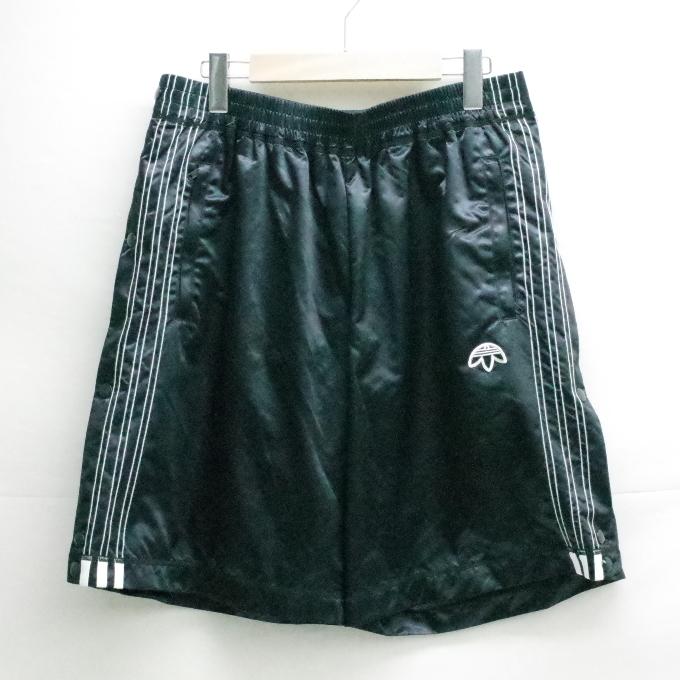 adidas originals BY Alexander Wang Adibreak Shorts アディダス オリジナルズ バイ アレキサンダーワン ブレイク ショーツ CV5257 ブラック サイズ:L【中古】【ストリート】【四日市 併売品】【126-180921-18USH】