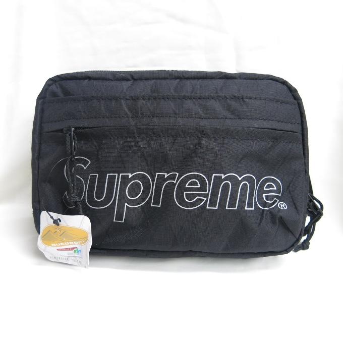 SUPREME 18AW Shoulder Bag シュプリーム ショルダーバッグ ブラック【中古】【カバン】【四日市 併売品】【137-180925-01USH】