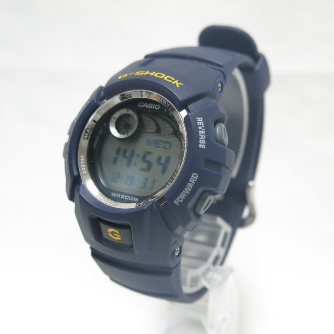 sale retailer 59c1b d4fda CASIO G-SHOCK G-2900-2JF willow oak ogee shock navy / yellow