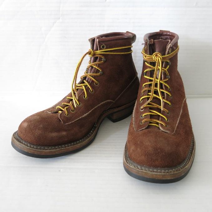 White's Boots SMOKE JUMPER LTT VIBTAM #700 ホワイツ 6インチ スモークジャンパー ブラウン サイズ:9E【中古】【その他靴】【四日市 併売品】【140-190325-02USH】