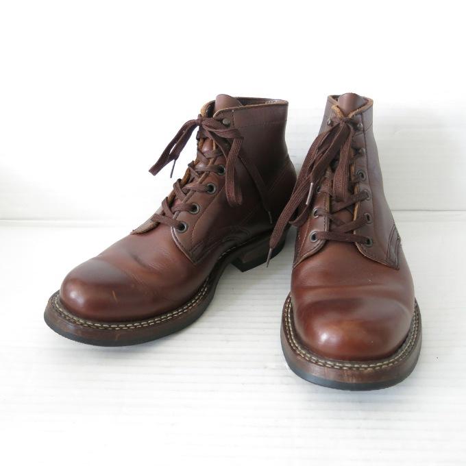 White's Boots Semi Dress 2332W #269 vibram 2332w ホワイツ 5インチ セミドレス ブラウン サイズ:8.5E【中古】【その他靴】【四日市 併売品】【140-190325-03USH】