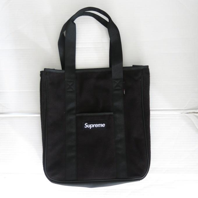 SUPREME 18AW Polartec Tote Bag シュプリーム ポーラテック トートバッグ 【中古】【カバン】【四日市 併売品】【137-190401-11USH】