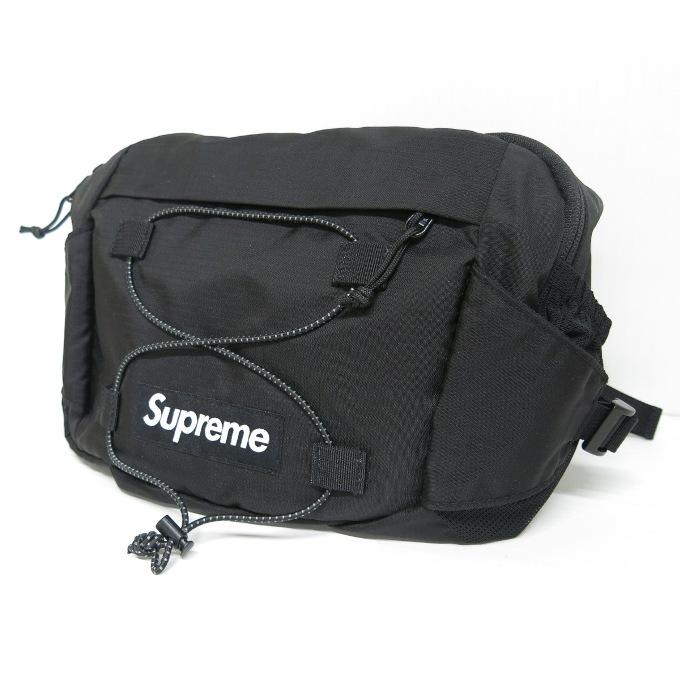 SUPREME 17SS Waist Bag シュプリーム ウエストバッグ ブラック【中古】【カバン】【四日市 併売品】【137-190415-06USH】