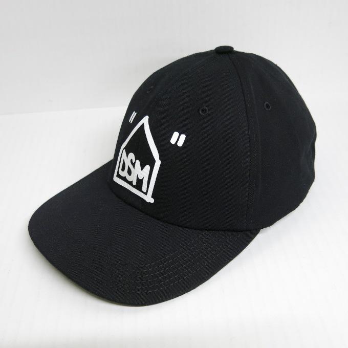 Off-White×DOVER STREET MARKET DSM CAP オフホワイト×ドーバーストリートマーケット コラボキャップ ブラック【中古】【136 その他帽子】【四日市 併売品】【136-190624-04USH】