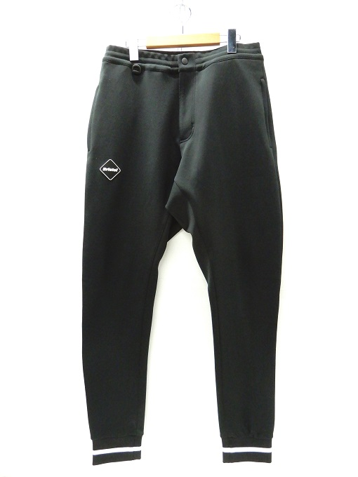 F.C.R.B(エフシーレアルブリストル) 16SS Track Jersey Pants トラック ジャージ パンツ ブラック サイズ:L【中古】【125 DM】【四日市 併売品】【125-200414-05YH】