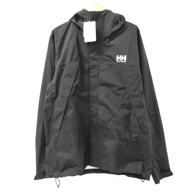 HELLY HANSEN(ヘリーハンセン) HOE11903 Scandza Light Jacket スカンザ ライト ジャケット ブラック サイズ:XL【中古】【129 アウトドア】【四日市 併売品】【129-200712-05YH】