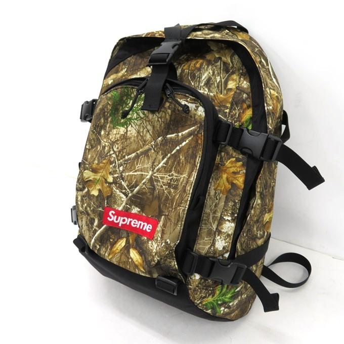 送料無料 予約販売 2019AW SUPREME 19AW 無料サンプルOK Backpack シュプリーム バックパック Real Tree 中古 137 リアルツリーカモ 四日市 137-210603-02USH 併売品 カバン Camo