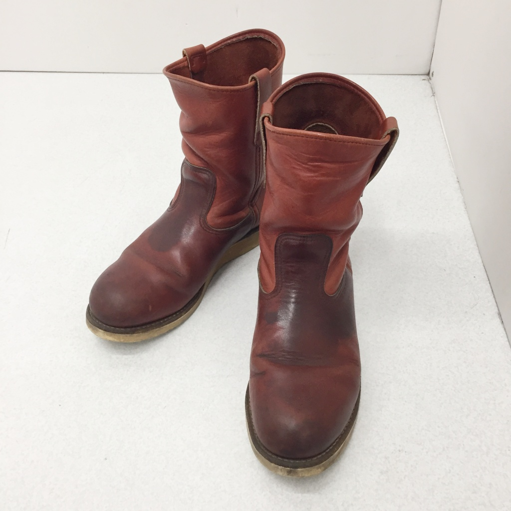 送料無料 人気ブランド RED WING レッドウィング 2276 PT91 ペコスブーツ 鈴鹿 市販 割り引き 140-200515-02NS 中古 140 併売品 カラー:ブラウン サイズ:26.5 その他靴