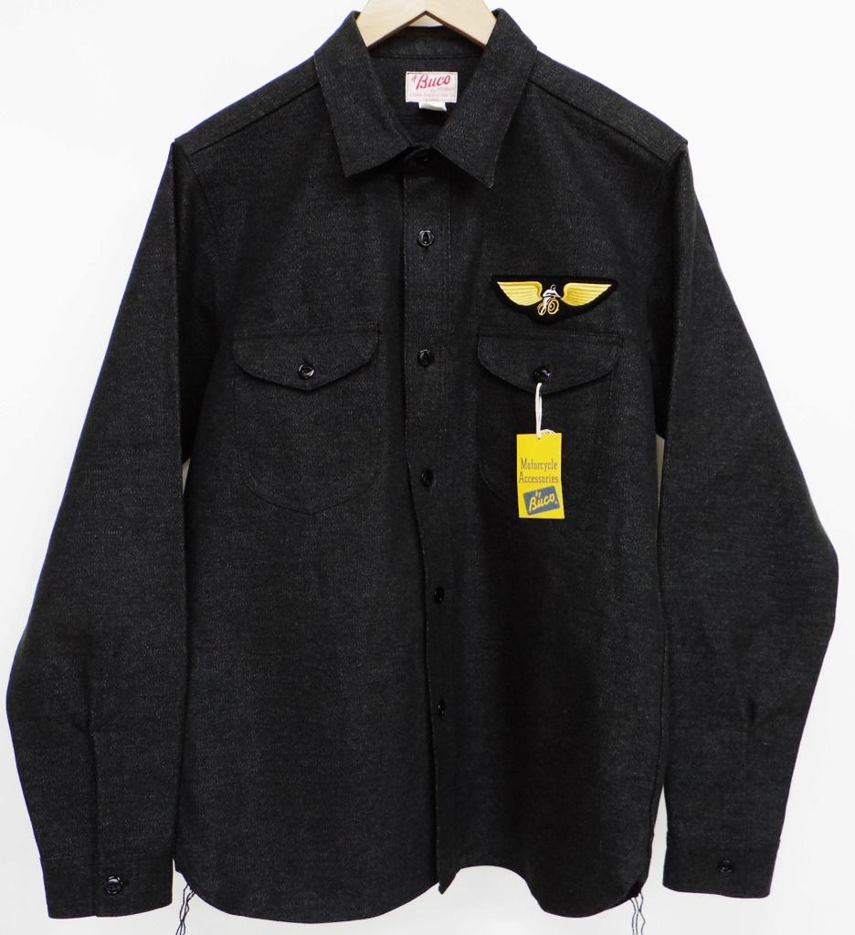 BUCO(ブコ) クラブシャツ サイズ:15 カラー:ブラック【中古】【128 アメカジ】【鈴鹿 併売品】【128-190118-01NS】