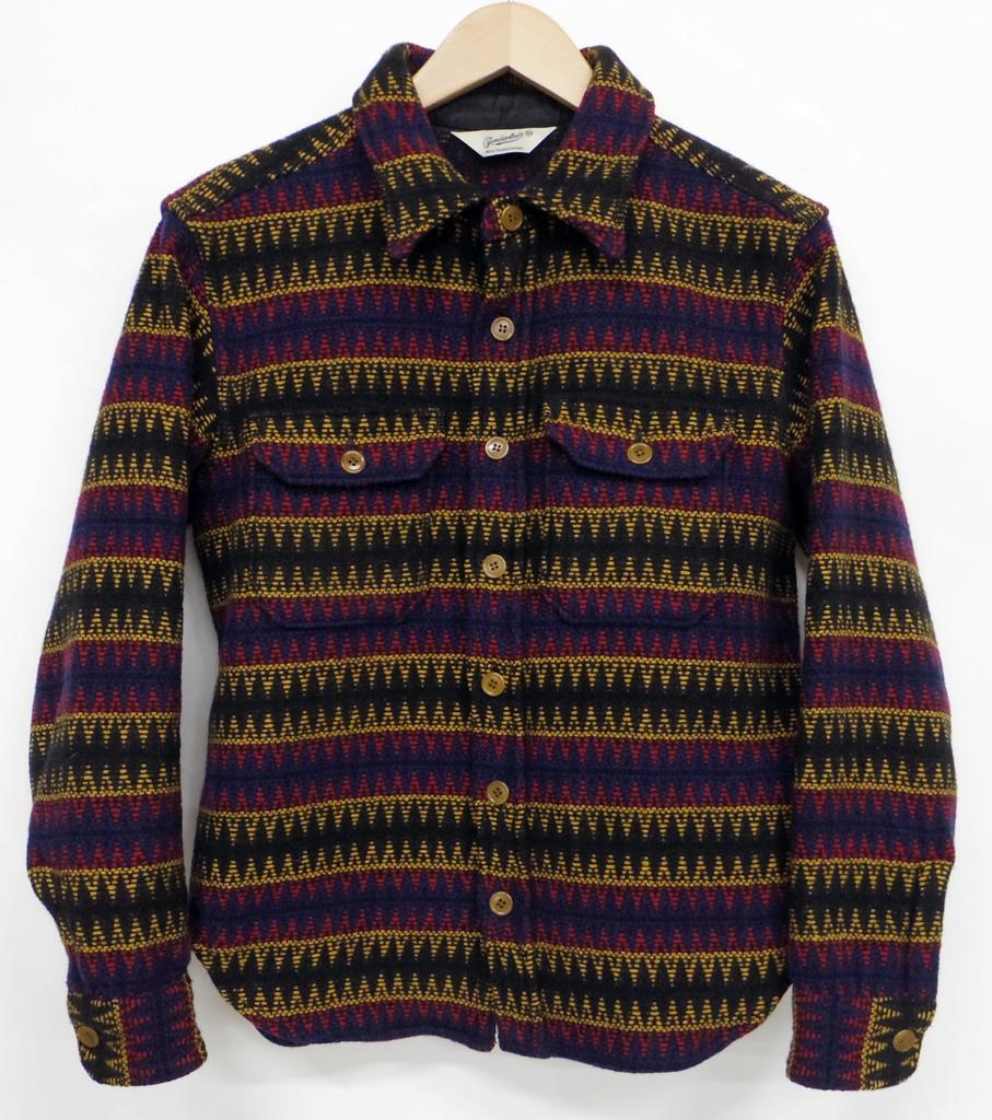 TENDERLOIN (テンダーロイン) インディアンウールジャケット サイズ:XS カラー:レッド系【中古】【127 ルード】【鈴鹿 併売品】【127-190219-03NS】