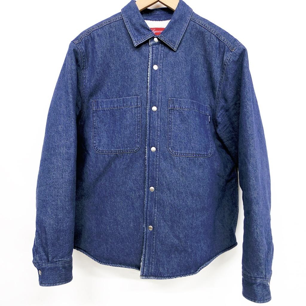 Supreme(シュプリーム) Sherpa Lined Denim Shirt サイズ:S カラー:デニム【中古】【126 ストリート】【鈴鹿 併売品】【126-190409-04NS】