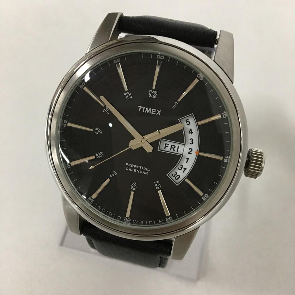 TIMEX(タイメックス) Perpetual Calendar カラー:Black【中古】【141 時計】【鈴鹿 併売品】【141-190508-04NS】
