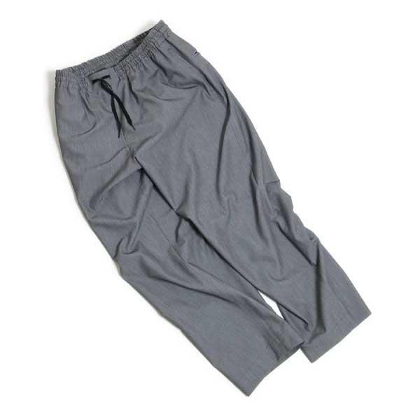 EEL (イール) /EEL PRODUCTS (イールプロダクツ) E-19204 【ベッドパンツ】 リラックスフィット イージーパンツ (Gray) 【19'S/S新作】ユニセックス 女性も着用可