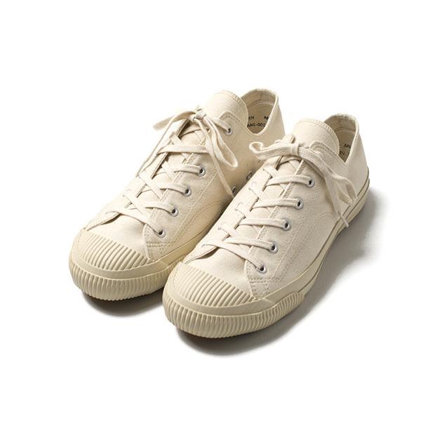 ROL   Rakuten Global Market: PRAS (plus) Kojima canvas shell cap Low Cut sneakers (Kinari / Off White)