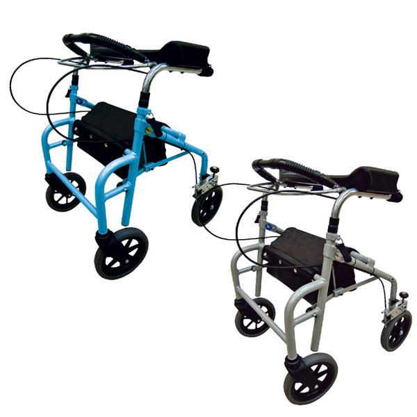 ウェルパートナーズ 歩行補助 ラビット 座面なしタイプ スモール/狭幅 低台 WA-1 介助器 介助車