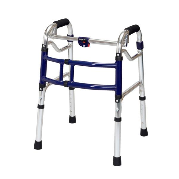 ユーバ産業 歩行補助 スライドフィット 固定式 介助器 介助車