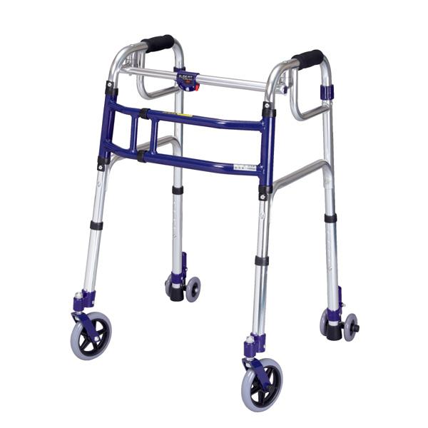 ユーバ産業 歩行補助 スライドフィット 5インチ 介助器 介助車