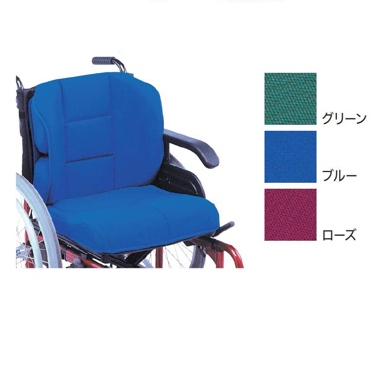 車椅子用車いす用クッション FC-アジャスト フルセット(座クッション+背クッション+サイドパット2個+骨盤パット2個) 221551