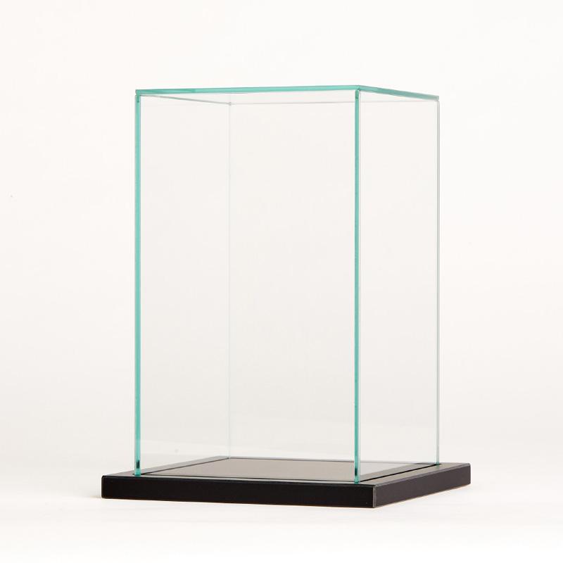 TanaCOCORO[掌] ガラスケースR(1体用) ガラスの重厚感で飾る専用ケース