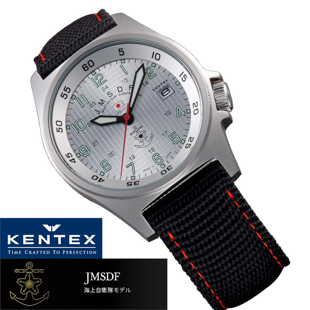 JMSDF 海上自衛隊モデル メンズ腕時計 メンズウォッチ ケンテックス JMSDFスタンダード S455M-03