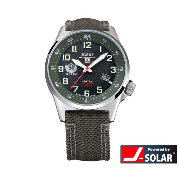 ケンテックス ソーラースタンダード JSDFウォッチ 自衛隊 陸・海・空モデル 日本製 メンズ腕時計 メンズウォッチ S715M-01
