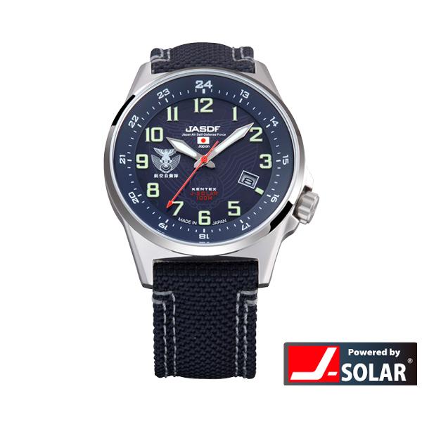 ケンテックス ソーラースタンダード JSDFウォッチ 自衛隊 陸・海・空モデル 日本製 メンズ腕時計 メンズウォッチ S715M-02