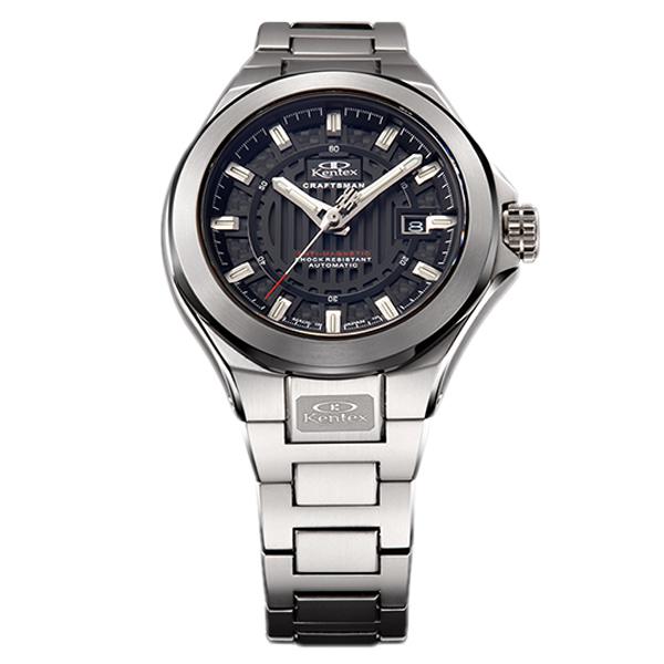 ケンテックス クラフツマン ハイビート機械式ムーブメント 自動巻き メンズ腕時計 メンズウォッチ S526X-05