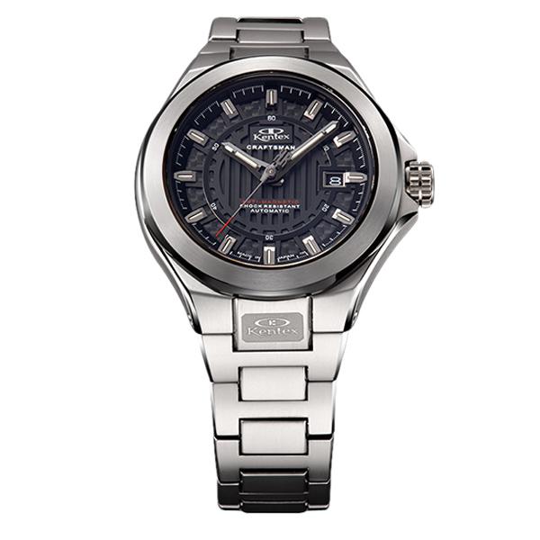 ケンテックス クラフツマン ハイビート機械式ムーブメント 自動巻き メンズ腕時計 メンズウォッチ S526X-06