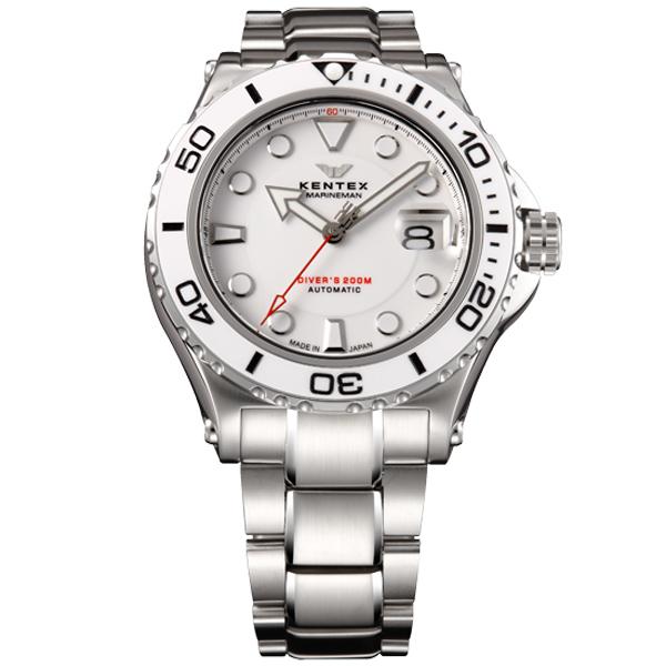 ケンテックス ダイバーズウォッチの国際規格 ISO06425 をクリア メンズ腕時計 メンズウォッチ MARINEMAN SEAHORSE II S706M-14