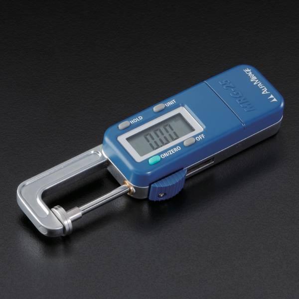 クイックデジタルゲージ MRG-25 ダイヤモンド、カラーストーン、真珠の寸法を瞬時に高精度に測定