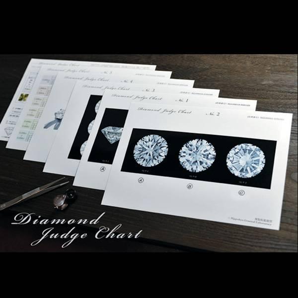 ダイヤモンドジャッジチャート ダイヤモンドの買取の為に作られた査定用チャートセット