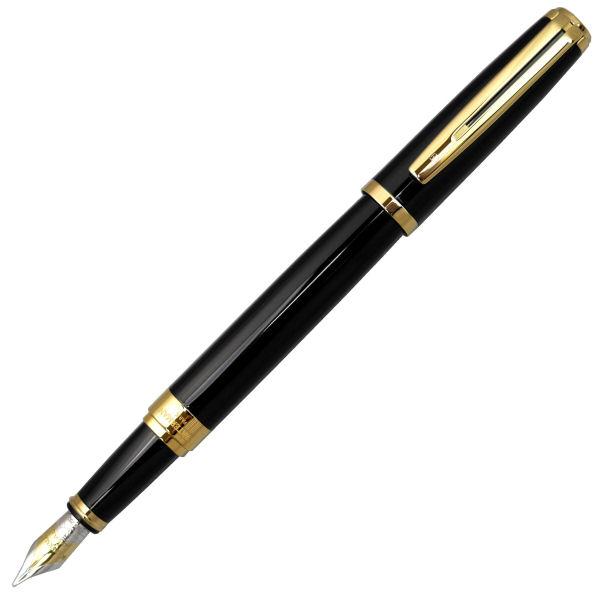 WATERMAN ウォーターマン エクセプション アイディアル ブラックGT 万年筆 (ペン先 M:中字) S2223123