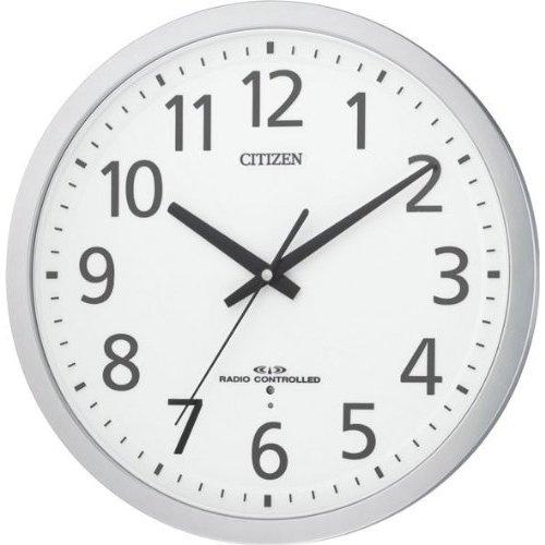 掛け時計 壁掛け時計 電波時計 シチズン リズム時計 RHYTHM CITIZEN スペイシー M462 8MY462-019 CITIZEN