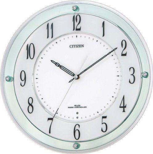 掛け時計 壁掛け時計 電波時計 シチズン リズム時計 ミレディM791 アナログ 4MY791-005 CITIZEN