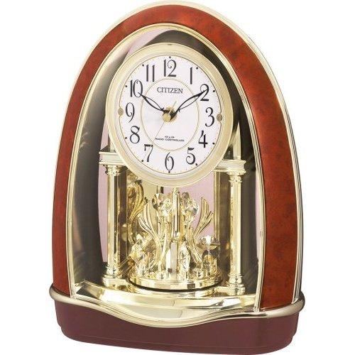 置き時計 置時計 電波時計 シチズン パルドリーム R414 4RN414-023 CITIZEN