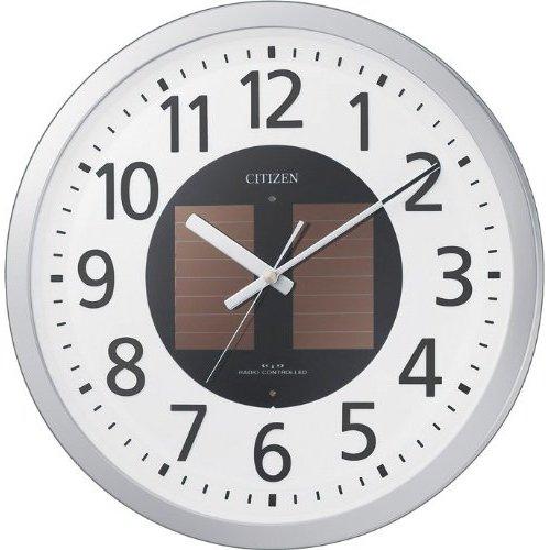 掛け時計 壁掛け時計 ソーラー エコライフ 電波時計 シチズン ソーラー エコライフ M815 4MY815-019 CITIZEN