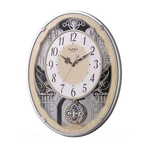 掛け時計 壁掛け時計 電波時計 シチズン リズム時計 スモールワールドクラッセ 4MN538RH23 CITIZEN