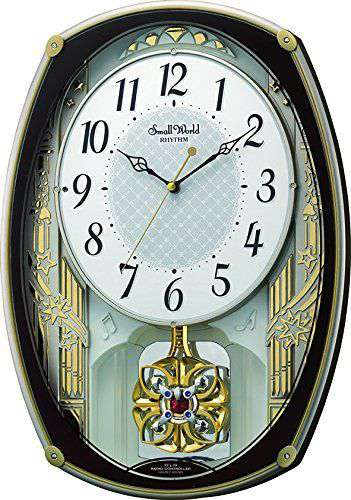 掛け時計 壁掛け時計 電波時計 シチズン リズム時計 RHYTHM CITIZEN スモールワールドレジーナ 4MN540RH06 CITIZEN