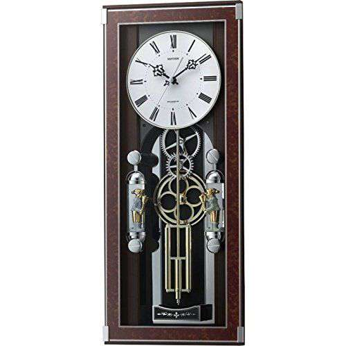 掛け時計 壁掛け時計 からくり 電波時計 シチズン リズム時計 からくり時計 ソフィアーレプリモ 4MN535SR23 CITIZEN