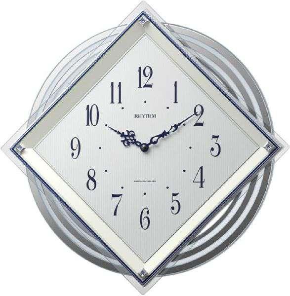 掛け時計 壁掛け時計 電波時計 シチズン リズム時計 RHYTHM CITIZEN ビュレッタ 4MX405SR03 CITIZEN