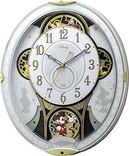 掛け時計 壁掛け時計 からくり 電波時計 シチズン リズム時計 からくり時計 ミッキー&フレンズ M509 4MN509MC03 CITIZEN